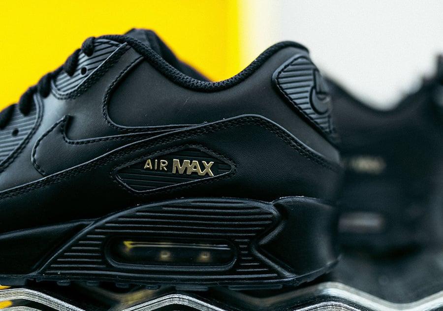 Nike Air Max 90 Black Gold Black Friday