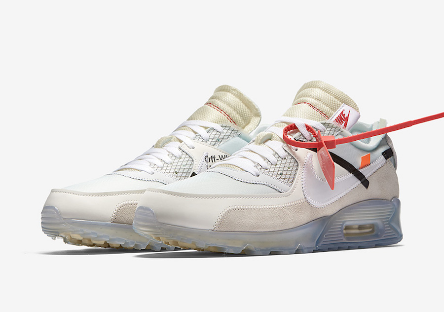 Nike Air Max 90 Off-White The Ten AA7293-100