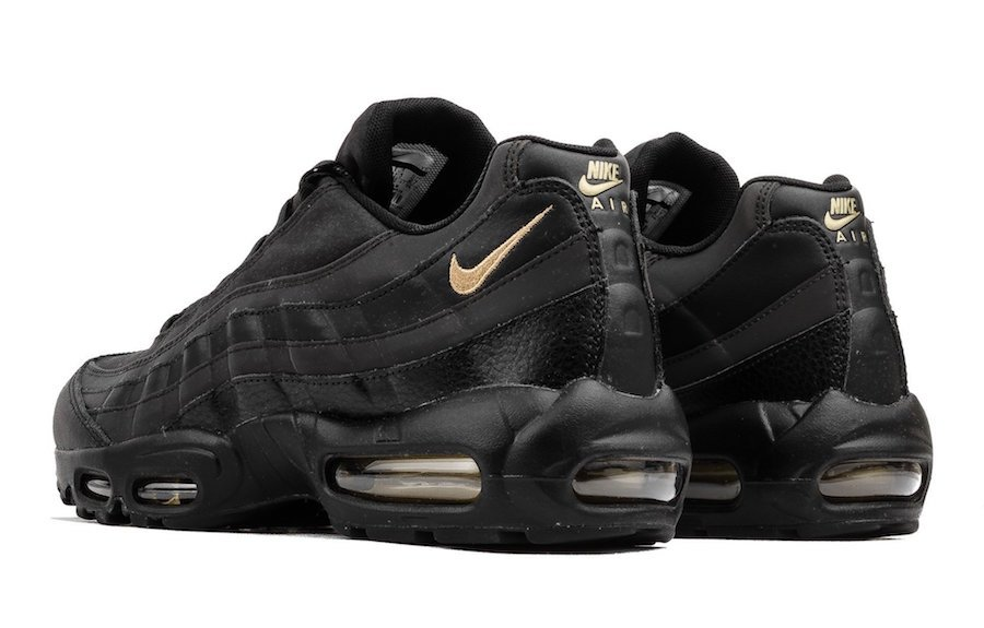 Nike Air Max 95 Premium SE Black Gold 924478-003