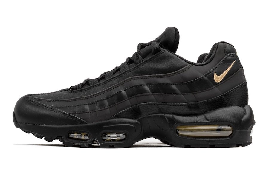 promo code 50fda e9cd0 Nike Air Max 95 Premium SE Black Gold 924478-003