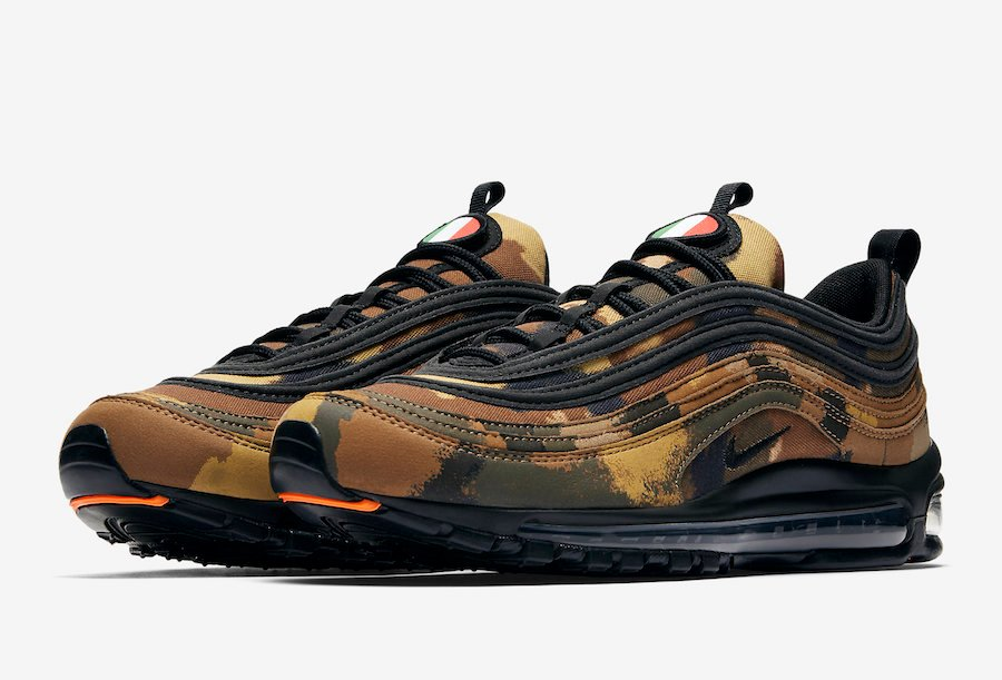 Nike Air Max 97 Country Camo Italy AJ2614 202 | SneakerFiles