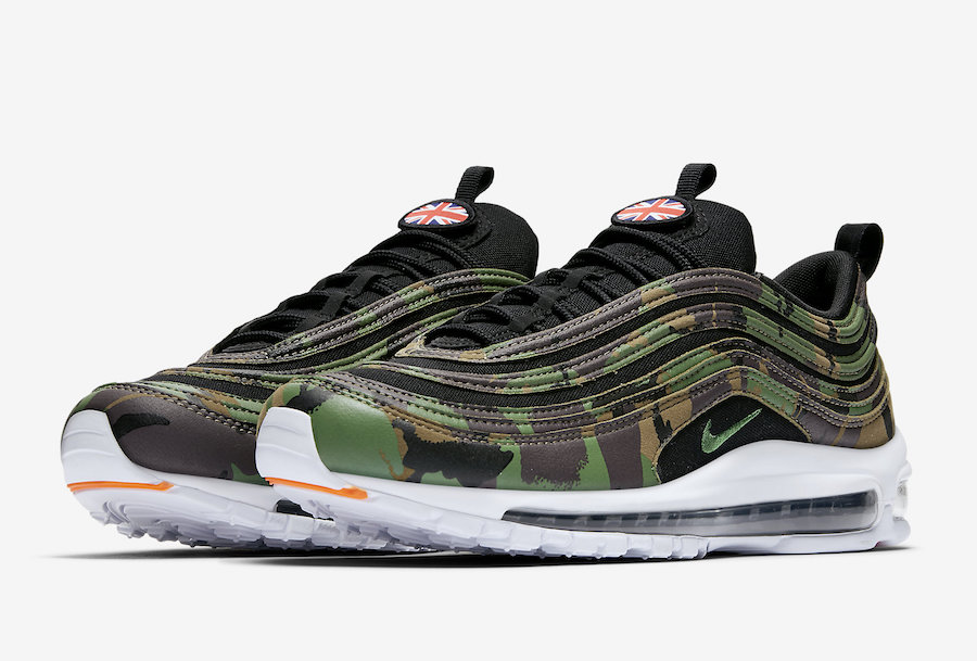 Nike Air Max 97 Country Camo UK AJ2614 201 | SneakerFiles
