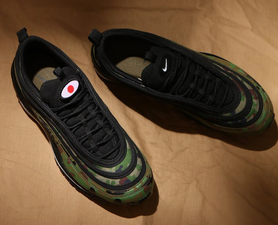 4dd9e8ebd0c3 Air Max 97 Camo Pack Japan