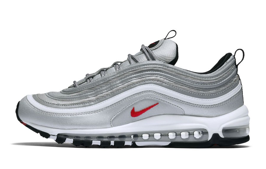Nike Air Max 97 OG Silver Bullet Restock 884421-001