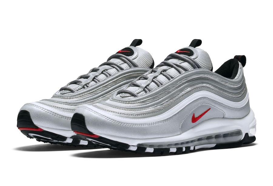 huge discount 83b18 a2cef Nike Air Max 97 OG Silver Bullet Restock 884421-001