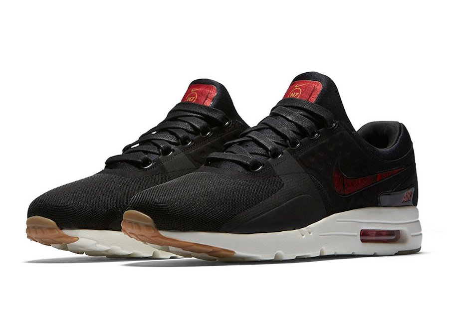 Nike Air Max Zero N7 Black Red
