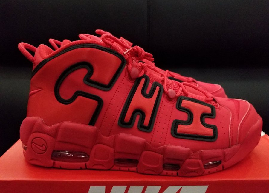 sports shoes 5d5f0 4ab7c Nike Air More Uptempo Chicago