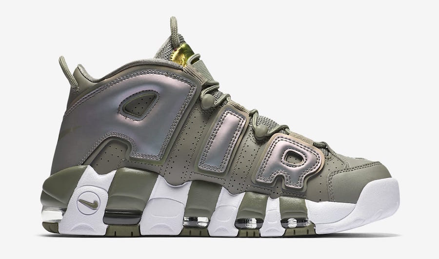 Nike Air More Uptempo Iridescent Womens 917593-001