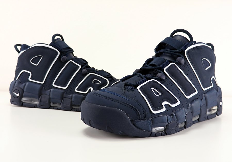 Nike Air More Uptempo Obsidian Review On Feet