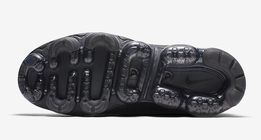 Nike Air VaporMax Chukka Slip Black Metallic Silver AO9326-002