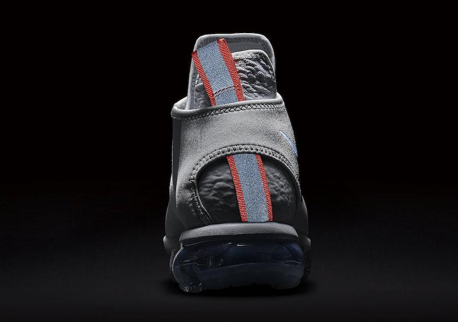 Nike Air VaporMax Chukka Slip White Silver AO9326-002