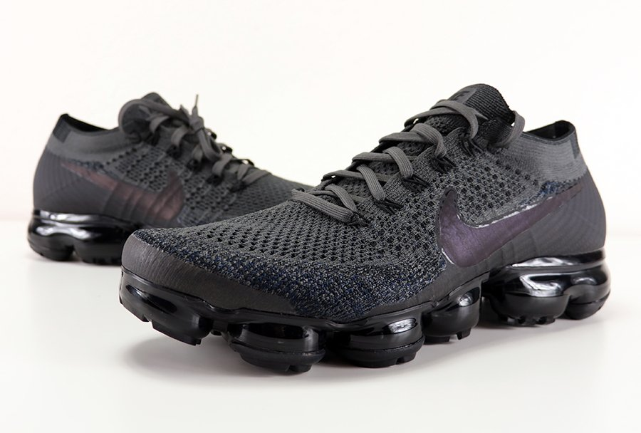 Nike Air VaporMax Midnight Fog Reflective Iridescent Swoosh Review On Feet