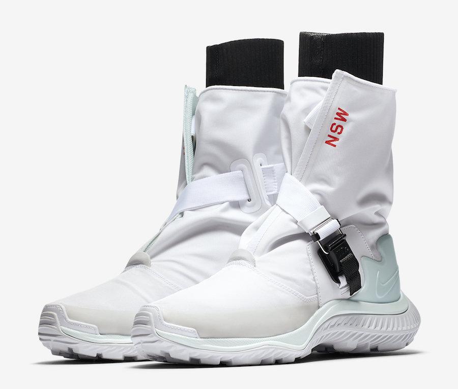 Nike Gaiter Boot White Barley Green AA0528-100