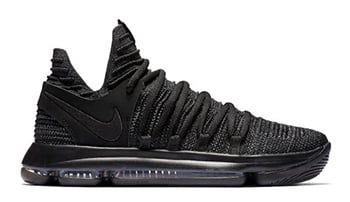 Nike KD 10 Triple Black