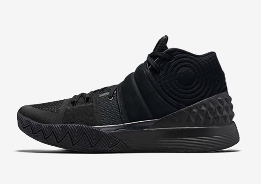 Nike Kyrie S1 Hybrid Triple Black Best