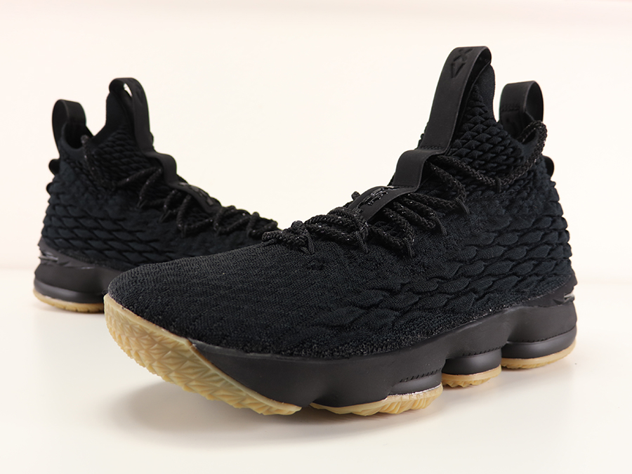 Nike LeBron 15 Black Gum Review On Feet