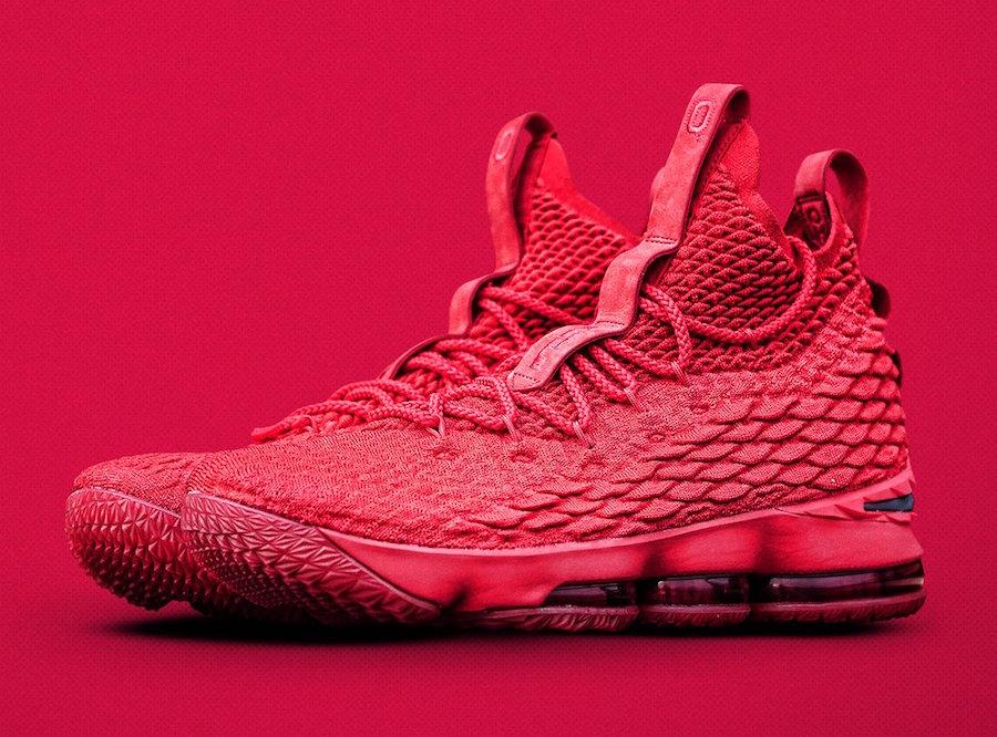 Nike LeBron 15 Ohio State Red