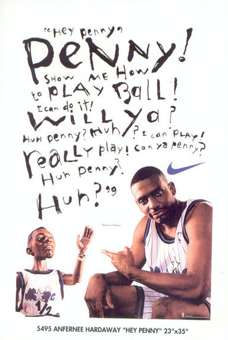 Nike Lil Penny Hey Penny Poster