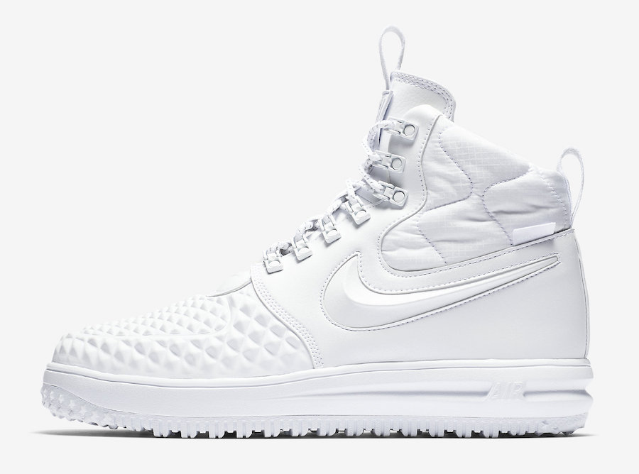 Nike Lunar Force 1 Duckboot White Snow AA1123-100