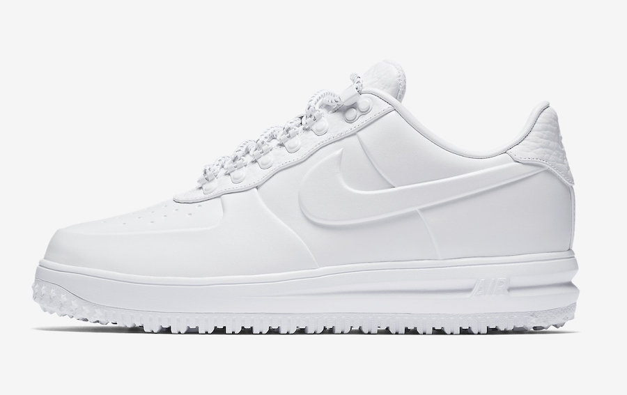 Nike Lunar Force 1 Duckboot White Snow Low AA1124-100