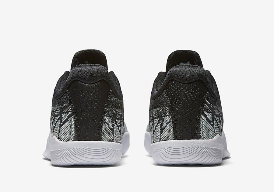Nike Mamba Rage Black Grey White 908972-001