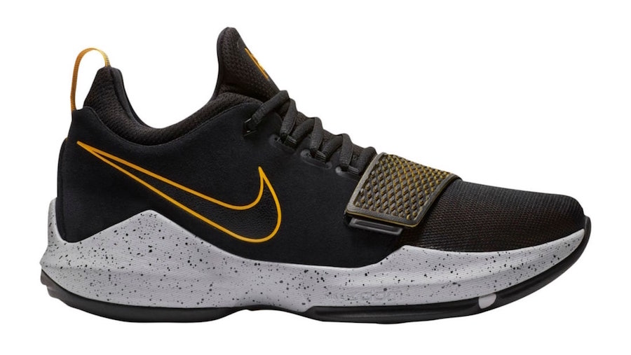 Nike PG 1 Black University Gold 878627-006