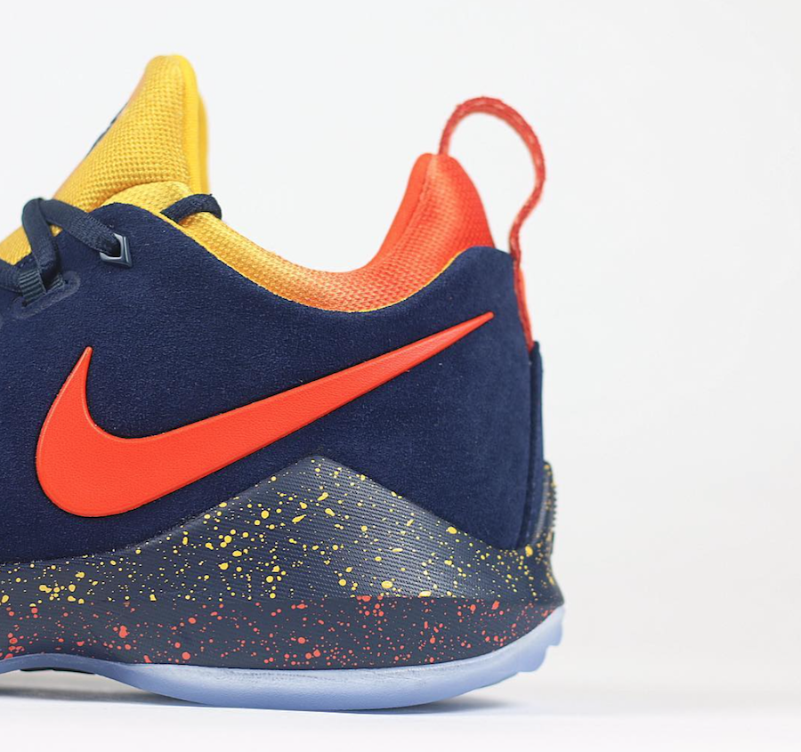 Nike PG 1 Midnight in OKC
