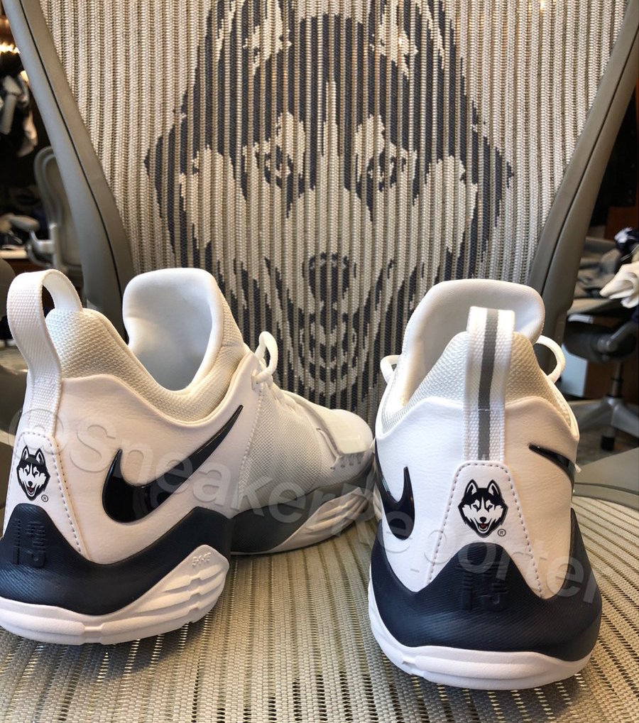 Nike PG 1 UConn PE Connecticut Huskies