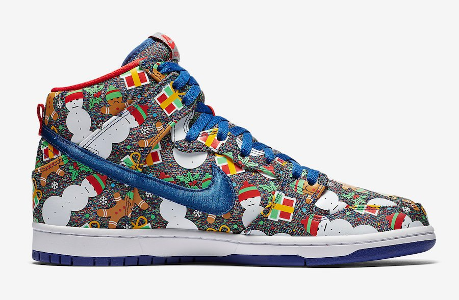 Nike SB Dunk High Ugly Sweater 881758-446