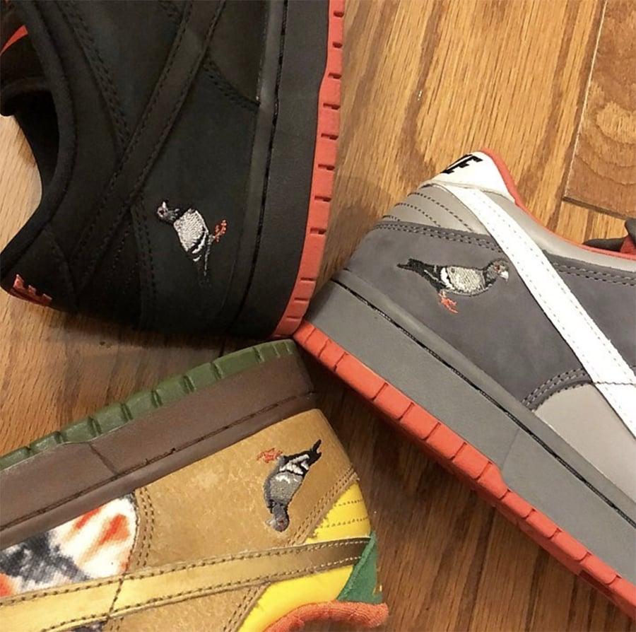 Nike SB Dunk Low Pigeon Black Release Info