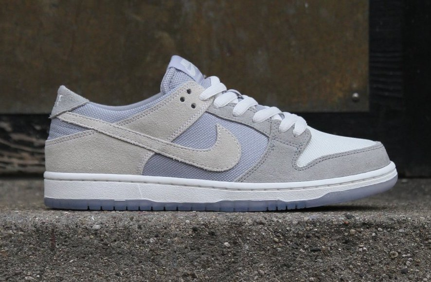 Nike SB Dunk Low Wolf Grey Summit White Clear 854866-011