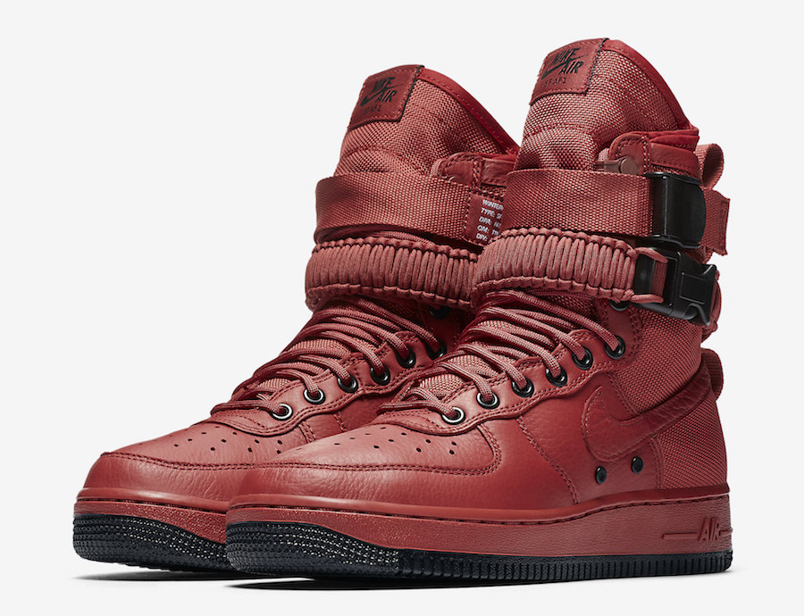Nike SF-AF1 Oxy Blood Red 857872-600