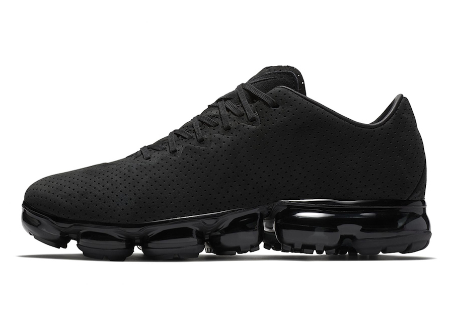 Nike VaporMax Leather Suede Black