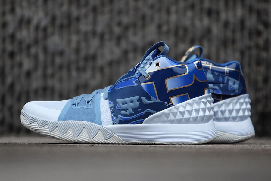 Nike What The Kyrie S1 Hybrid Blue Gold