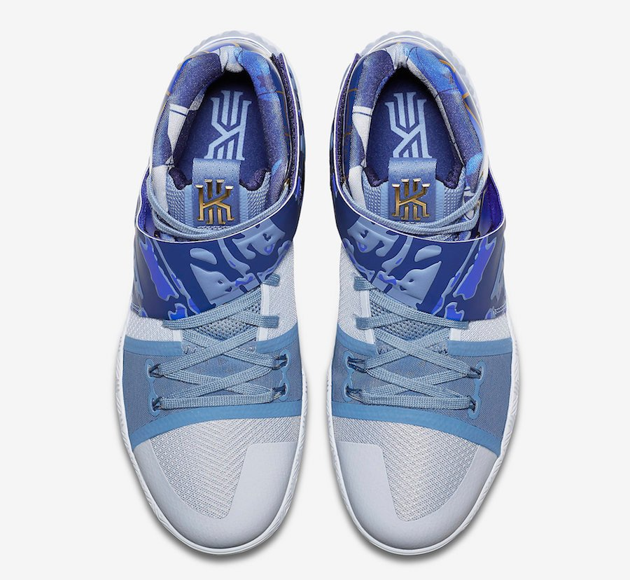 Nike What The Kyrie S1 Hybrid Blue Gold AJ5165-902