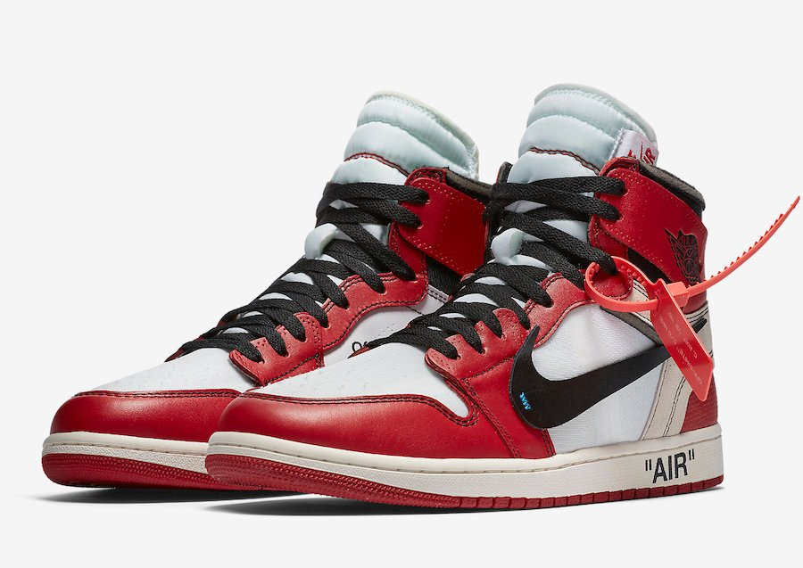 buy popular 382b3 12eec Off-White Air Jordan 1 The Ten AA3834-101