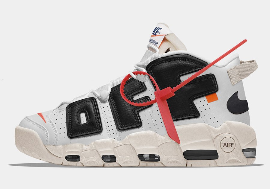 OFF-WHITE Nike Air More Uptempo