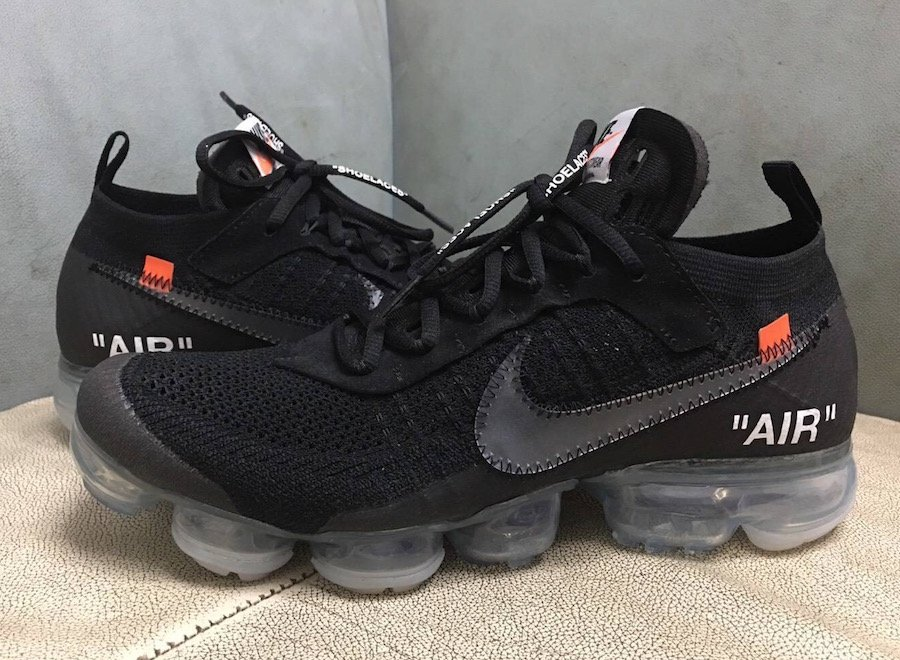 new release available cheaper Off-White x Nike Air VaporMax Black AA3831-002 2018 ...