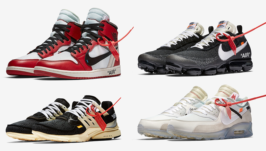 Off-White Nike The Ten Release Date
