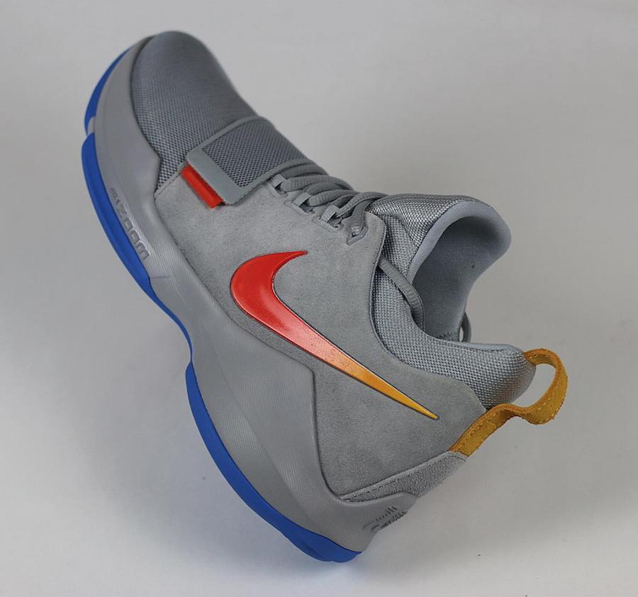 Paul George Nike PG 1 Grey Suede PE
