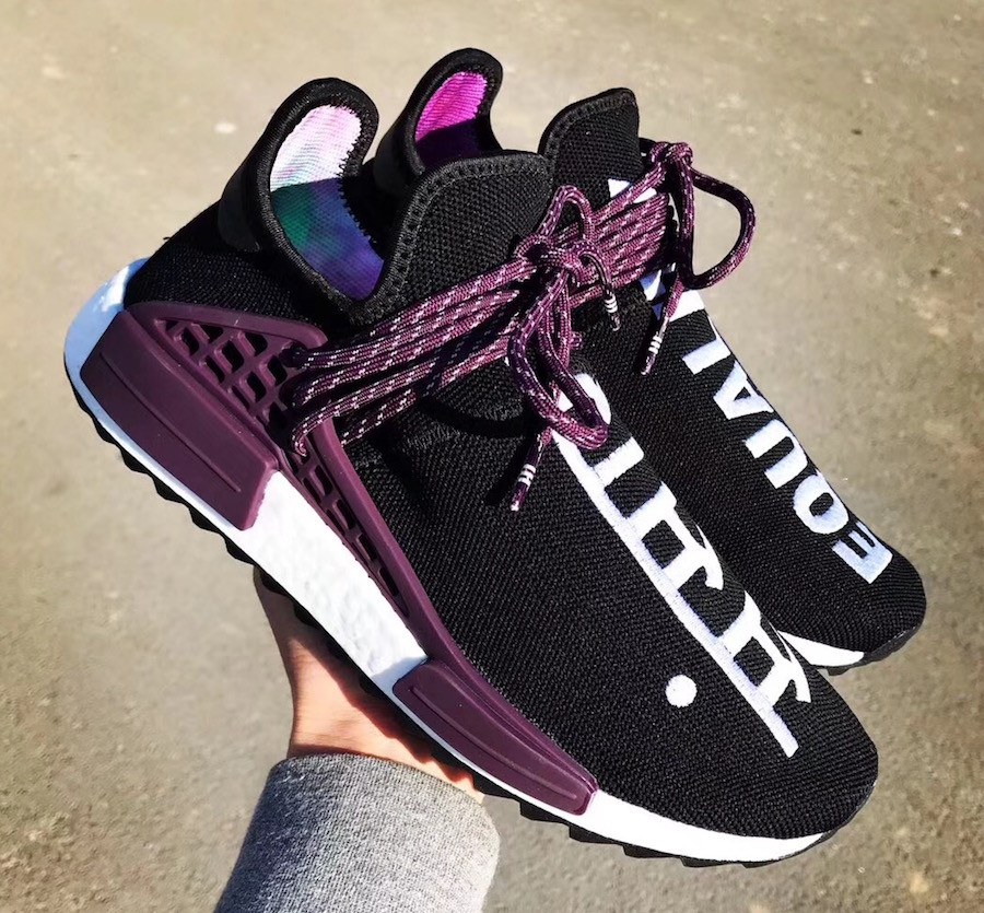 adidas x Pharrell Pink Beach Lace Up Multicolour Where To