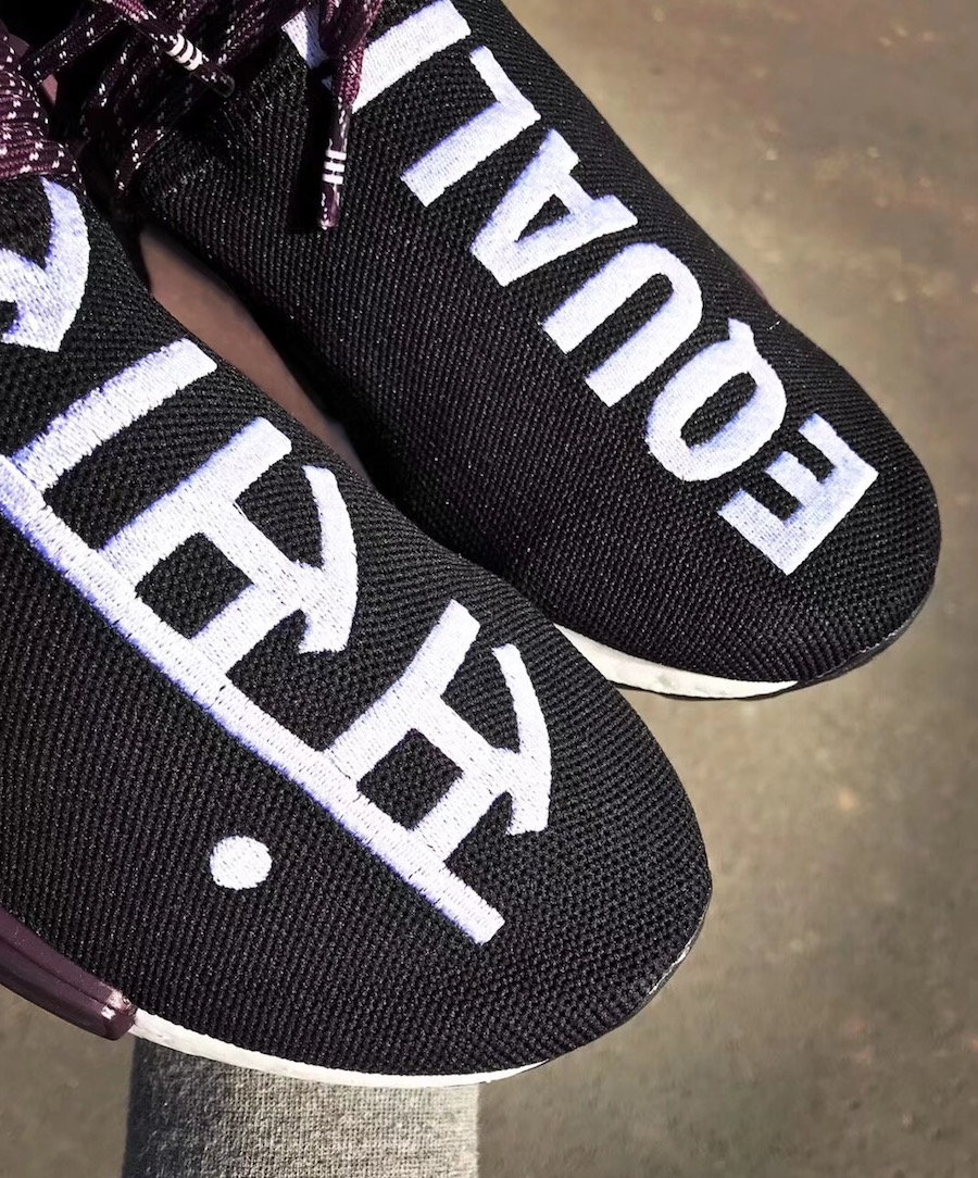 Pharrell adidas NMD Hu Trail Equality Release Date