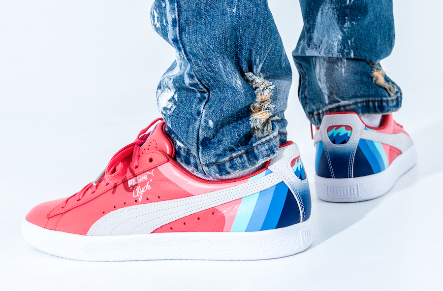 Pink Dolphin Puma Clyde Pack Release Date
