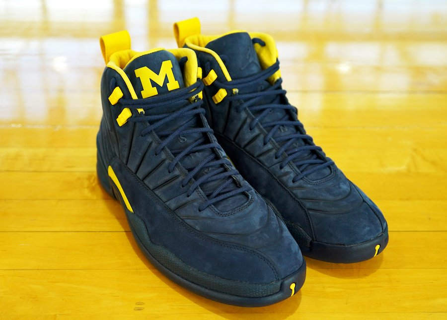 PSNY Air Jordan 12 Michigan Collection