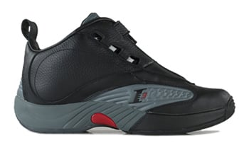 Reebok Answer IV Black Grey Red
