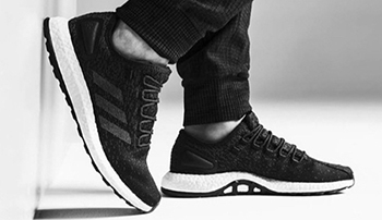 Reigning Champ adidas Pure Boost Black White
