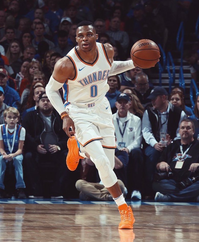 Russell Westbrook Air Jordan 10 MVP Orange PE