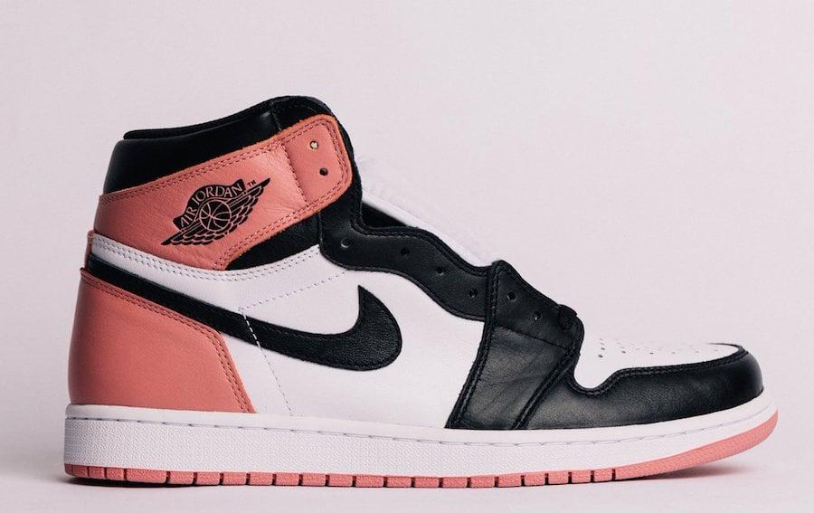 Rust Pink Air Jordan 1