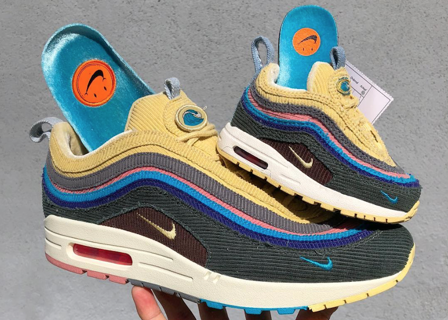official photos 02404 9b919 Sean Wotherspoon Nike Air Max 1 97 Toddler Sizes