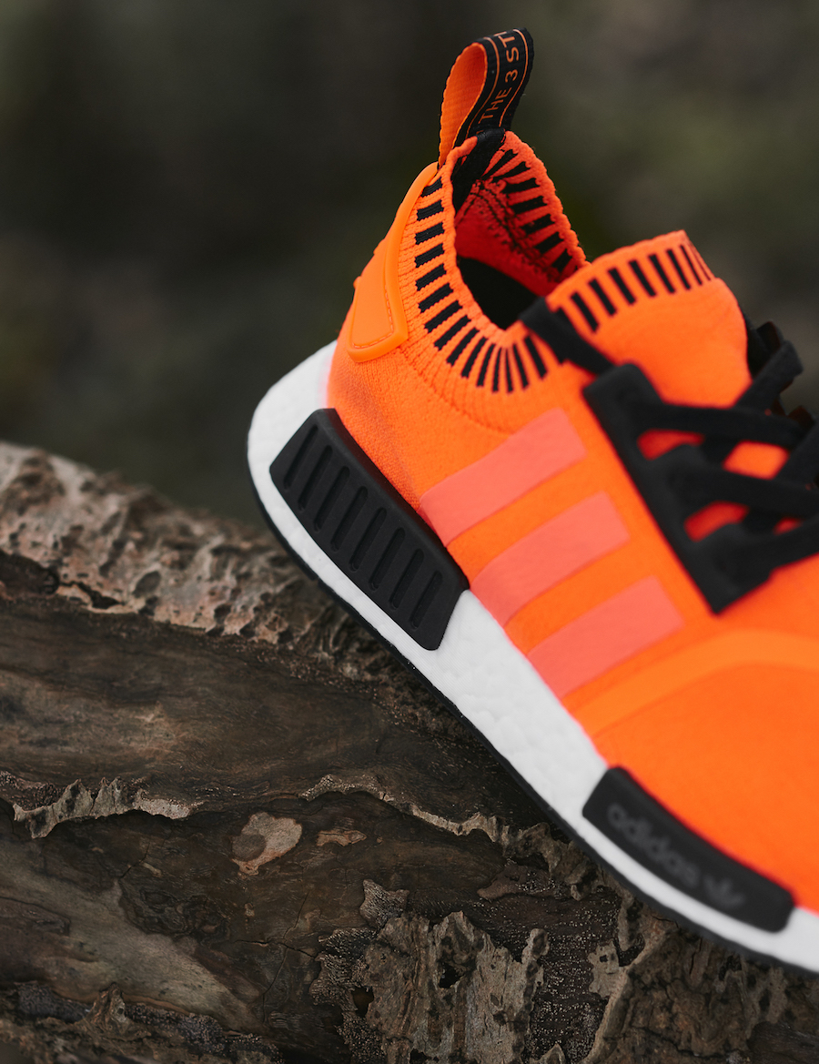 size? exclusive adidas NMD R1 Neon Orange